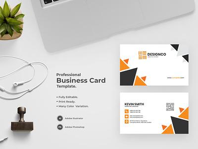 Business Card -42 bdthemes flat design visit card business card design visitingcard visiting card professional design modern design visiting card design professional business card