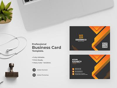 Business Card -45 flat design bdthemes modern design business card design visit card visiting card professional design visitingcard visiting card design professional business card