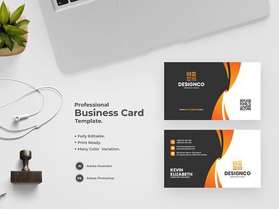 Business Card -46 bdthemes modern design visit card flat design business card design visitingcard professional design visiting card visiting card design professional business card