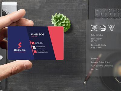 Modern Visiting Card Design-29 bdthemes business card design professional design flat design modern design visit card visitingcard visiting card visiting card design professional business card