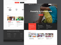 Orphan - Charity WordPress Theme Home Page 2