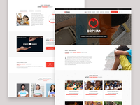 Orphan - Charity WordPress Theme Home Page 3