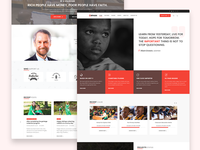 Orphan - Charity WordPress Theme Home Page 4