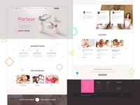 Parlour - Dedicated Beauty Salon Wordpress Theme Home 1