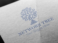 Network Tree : logo for your company.