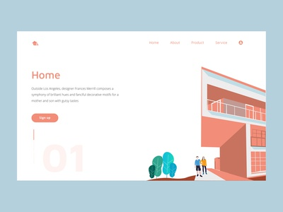 Personal Portfolio Mini Website Illustration