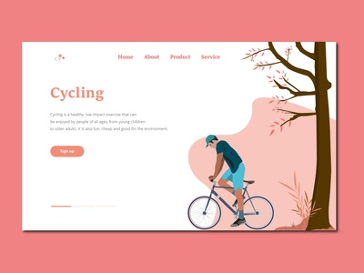 Cycling - A hero section for your inspiration