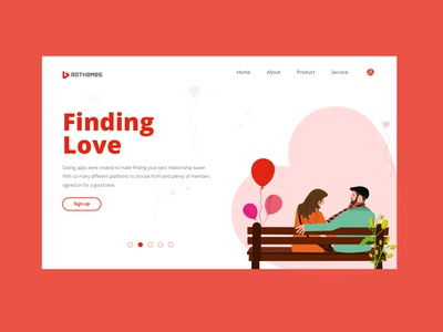 Finding Love website template
