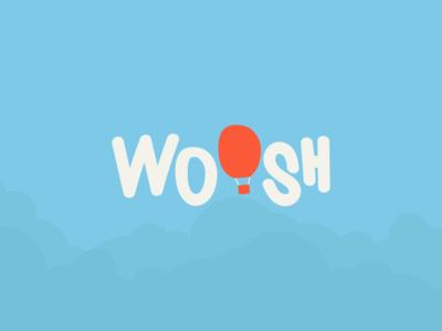 WOOSH Hot Air Balloon.