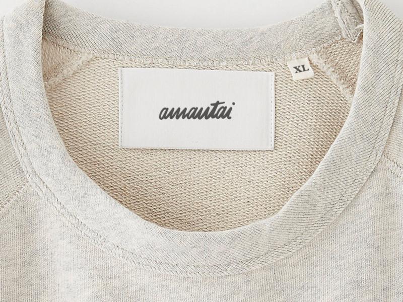 AMANTAI Clothing tag.