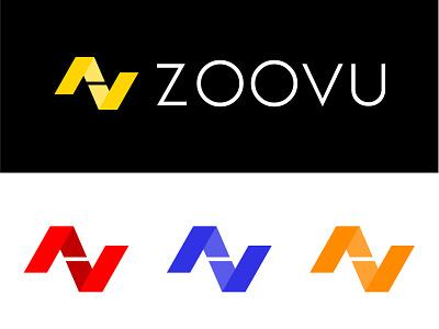 Zoovu Logo Idea ribbon colorful arrow geometric geometry inspiration branding logo design logo technology logo technology technical medical logo medical