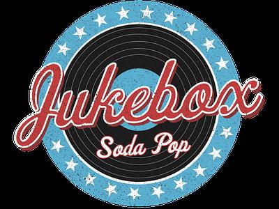 Jukebox Design logo design distressed rugged 50s 1950s soda record vintage jukebox logo