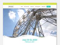Baltimore Artscape Website Redesign Concept