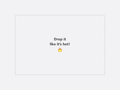 🔥 emoji icons design simple ux ui drop drag