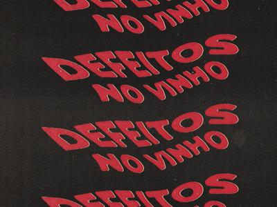 """""""Defeitos no vinho"""" (Wine Faults) series for Eno Cultura"""