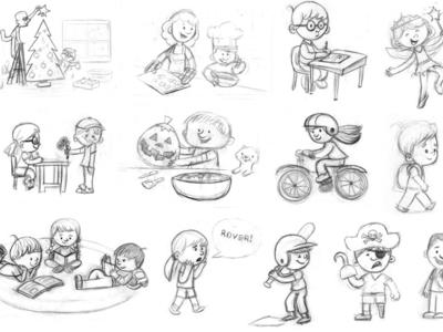 Spot Sketches