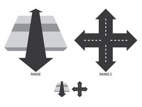 Vehicle Range icon