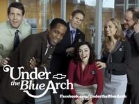 Under the Blue Arch logo