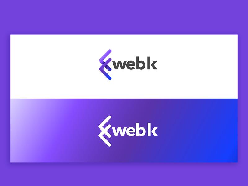 WebK typography icon branding logo vector design artdirection