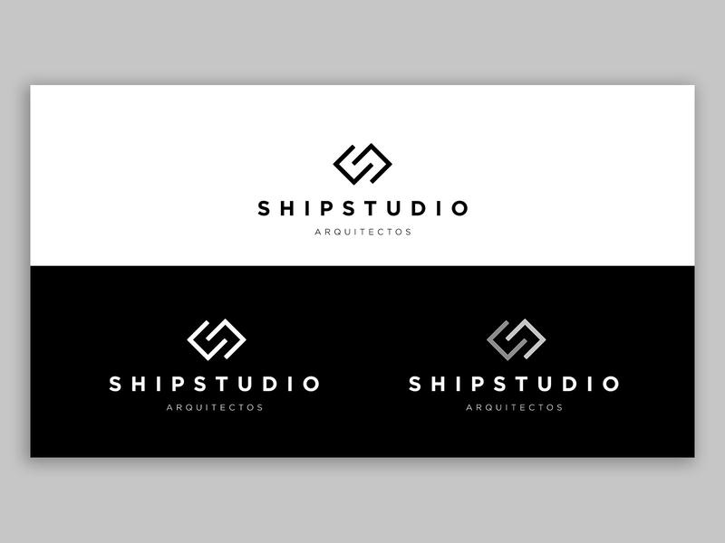 ShipStudio - Arquitectos typography branding logo vector design artdirection
