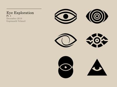 Eye Exploration Pt. 1