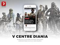 Aktuality.sk iOS app homepage