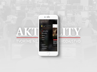 Aktuality.sk iOS / Android app