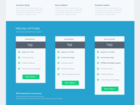 Landing Page for ZOOM Builder