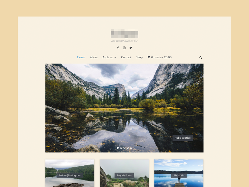 Photography Theme photography minimal wpzoom theme wordpress