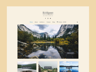 Photography Theme photography minimal wpzoom theme wordpress