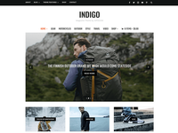 Indigo Magazine & Blog WordPress Theme