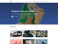 Reel Video WordPress Theme