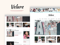 Velure WordPress Theme for Fashion Bloggers