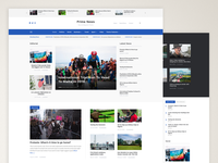 Prime News - WordPress Theme