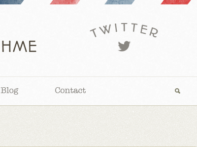 Photo Theme Header header border mail twitter menu search