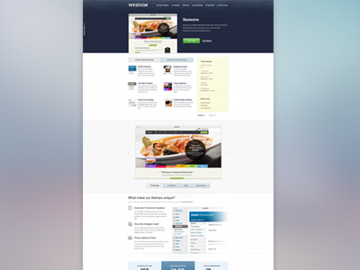 Re-designed product page wpzoom wordpress theme landing product page slider