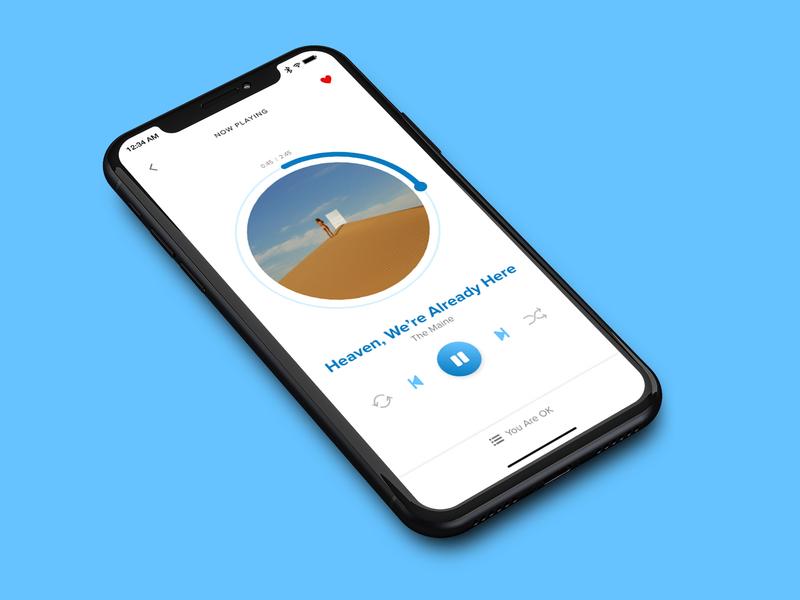 Daily UI 009 - Music Player music player ui mobile music player concept ui daily ui design