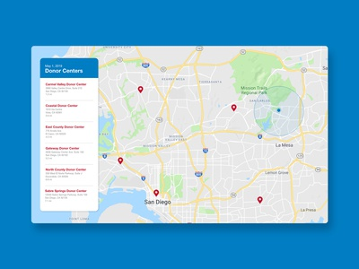 Daily UI 020 - Location Tracker