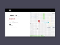 Daily UI 028 - Contact