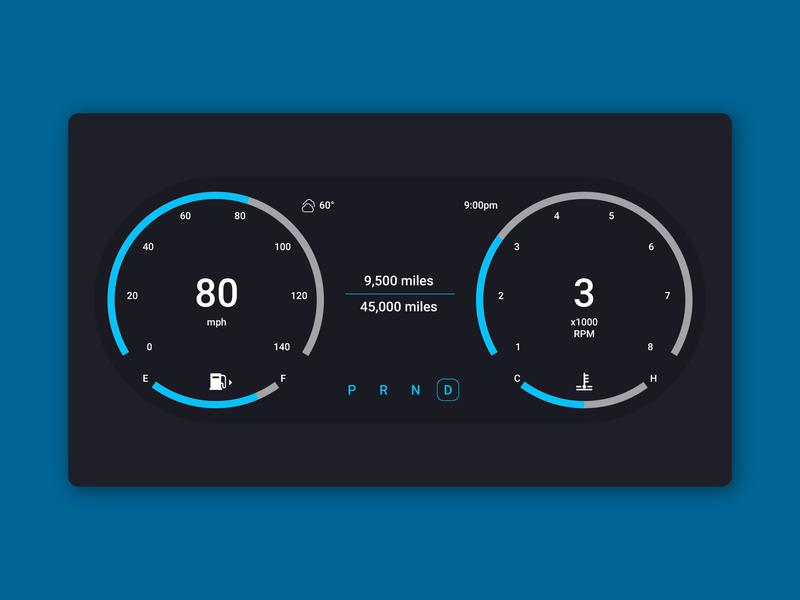 Daily UI 034 - Car Interface car interface daily ui 034 concept ui daily ui design