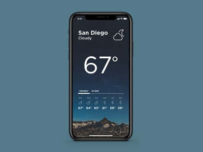 Daily UI 037 - Weather weatherapp weather daily ui 037 mobile concept ui daily ui design