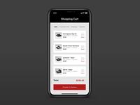 Daily UI 058 - Shopping Cart