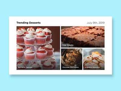 Daily UI 069 - Trending