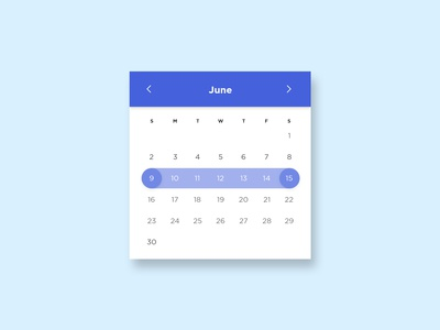 Date Picker designs, themes, templates and downloadable graphic