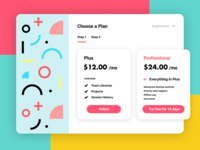 Daily UI #030 Pricing table