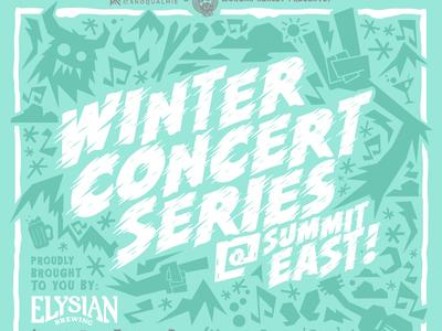 2019 Winter Concert Series Flyer - Partial view