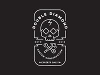 Double Diamond Custom Construction logo