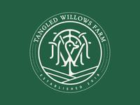 Tangled Willows Farm logo design
