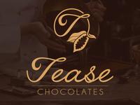 Tease Chocolates logo design