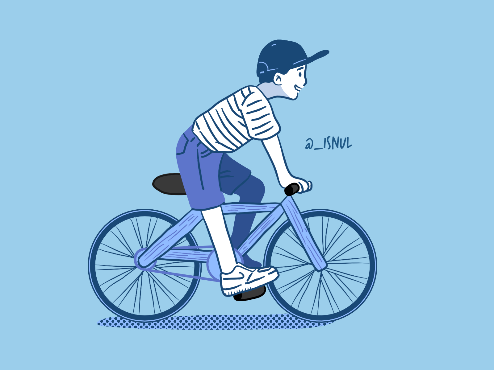 Ride My Bicycle By Muhammad Isnul On Dribbble